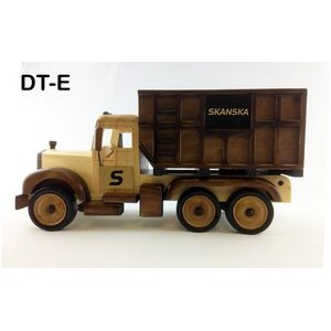 Wooden Dump Truck w/ Cinnamon Almonds