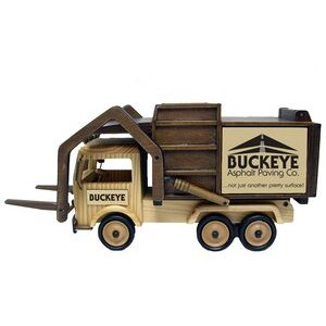 Wooden Garbage Truck w/ Forks - Deluxe Mixed Nuts (no peanuts)
