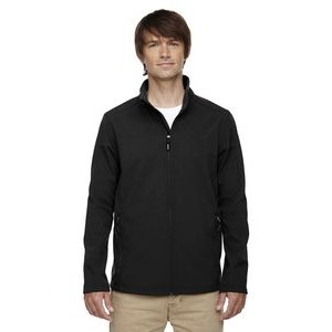 CORE 365 Men's Cruise Two-Layer Fleece Bonded Soft Shell Jacket
