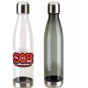 25 oz AS Plastic Bottle with Screw Top Cap