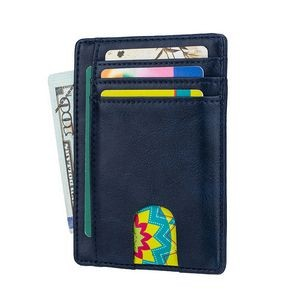 RFID PU leather Card Case