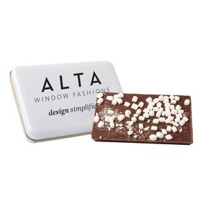 Milk Chocolate & Dehydrated Marshmallow Bark Tin