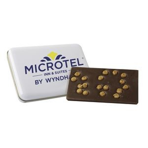 Milk Chocolate & Caramel Bit Bark Tin