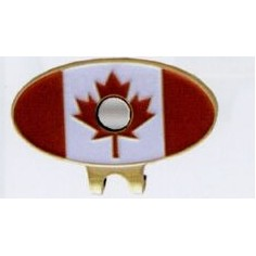 Canadian Flag Stock Hat Clip