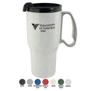 Mugs - 21 Oz. Sportster Mug With Spill-Resistant Lid