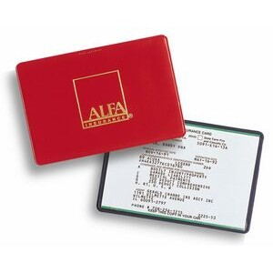 Auto Insurance Card Holder