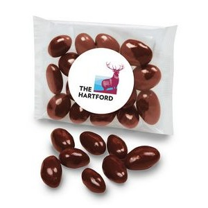 Custom Labeled Chocolate Covered Almonds