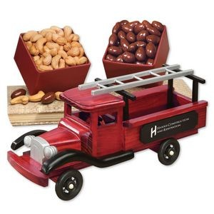 1940-Era Pick-up Truck with Chocolate Almonds & Extra Fancy Jumbo Cashews