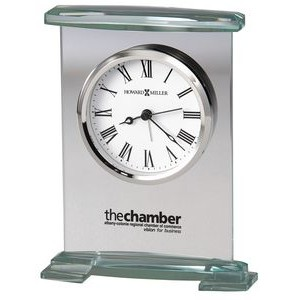 Howard Miller Augustine Glass Bracket Alarm Clock