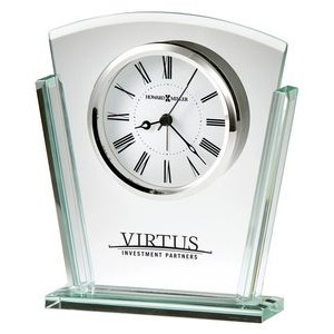 Howard Miller Granby beveled glass tabletop clock