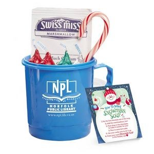 """Snowman Soup"" Mug 24-Oz. Gift Set - Personalization Available"