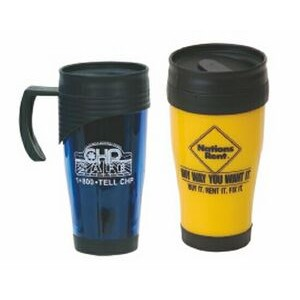14 Oz. Plastic Mug with Handle