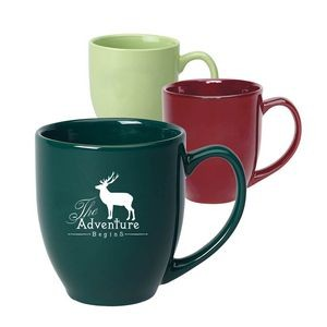 Color 15 oz. Bistro Mug with large curved handle