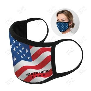 2 ply Sublimation Cotton Mask- US Stock