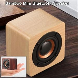 Bamboo Mini Bluetooth Speaker - Light Wood