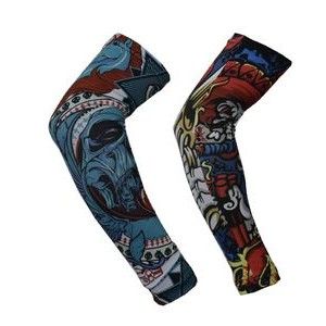 Full color Arm sleeves sublimation sports wrap spirit sleeve